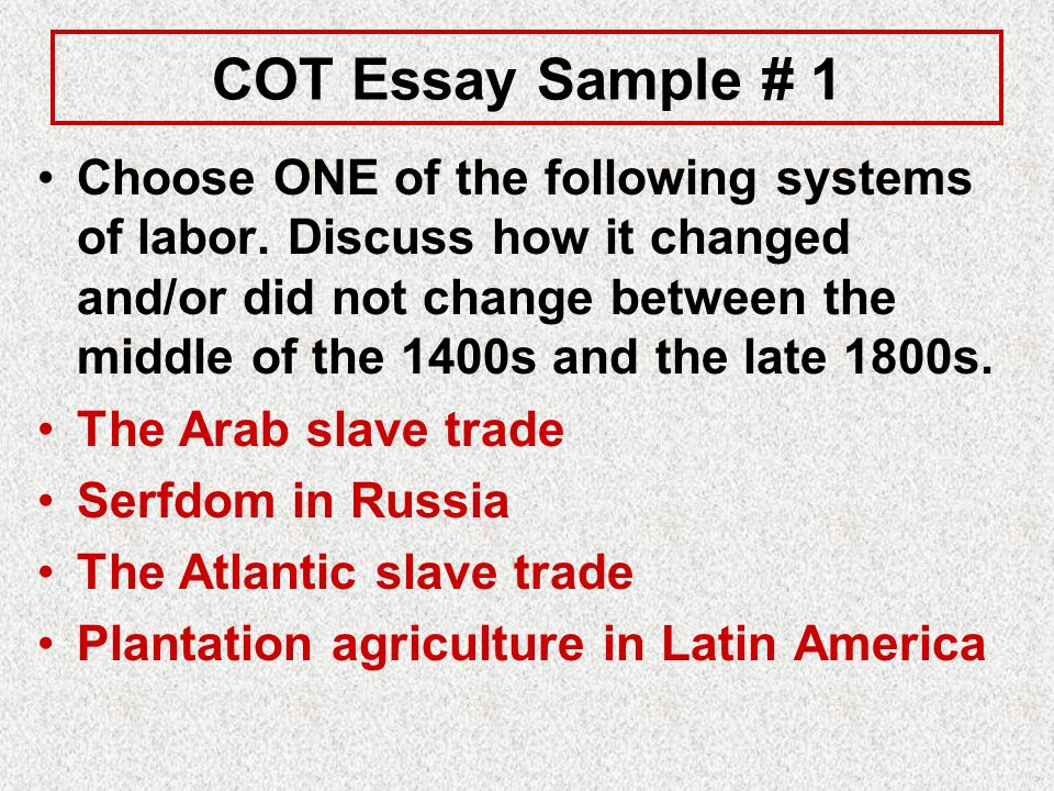 change over time essay thesis Free essay: name: carolyn ma period 9 ap world cot japan essay japan is a  small island nation off the coast of eastern asia despite its.