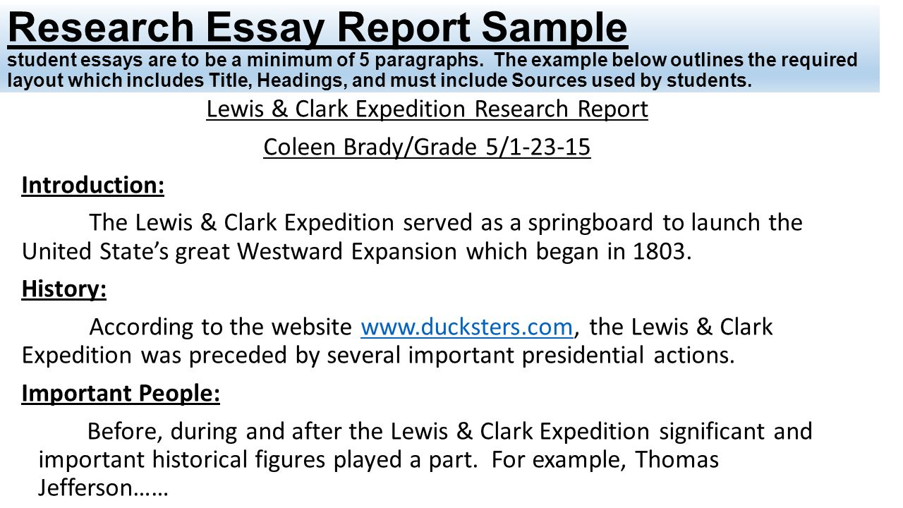 lewis and clark essay example Essay examples essay examples about lewis and clark expedition pay what you want master thesis suspended.