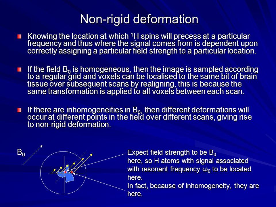Non-rigid deformation