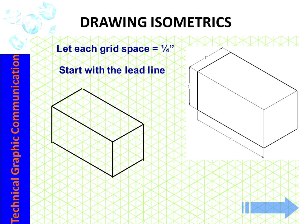 Start with the lead line Technical Graphic Communication