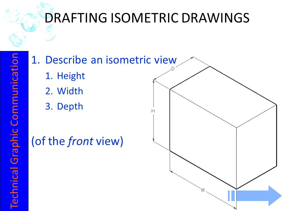 DRAFTING ISOMETRIC DRAWINGS