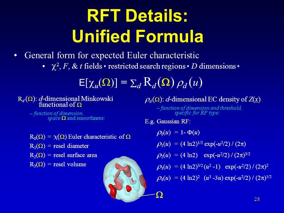 RFT Details: Unified Formula