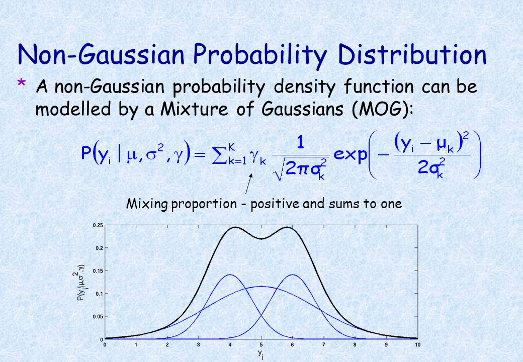 Non-Gaussian Probability Distribution