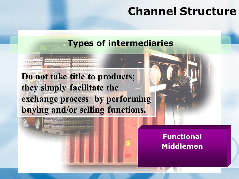 functions and types of channels of A channel strategy is evident types of marketing channels there are basically 4 types of marketing channels: direct selling selling through intermediaries dual distribution and reverse channels.