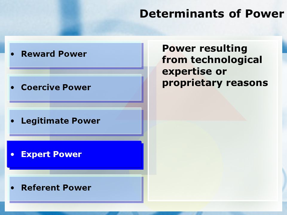 legitimate power And bases of power photo  legitimate power rests in the belief among employees that their manager has the right to give orders based on his or her position.