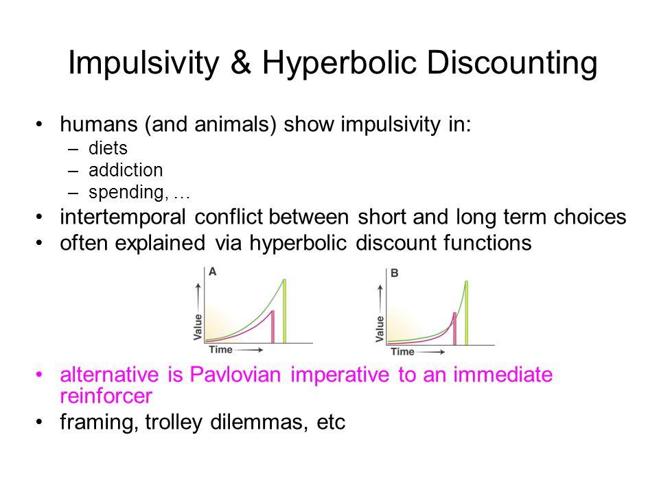 Impulsivity & Hyperbolic Discounting