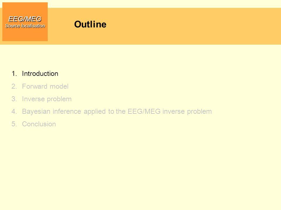 Outline EEG/MEG Introduction Forward model Inverse problem