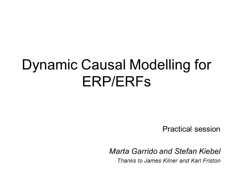 Dynamic Causal Modelling for ERP/ERFs