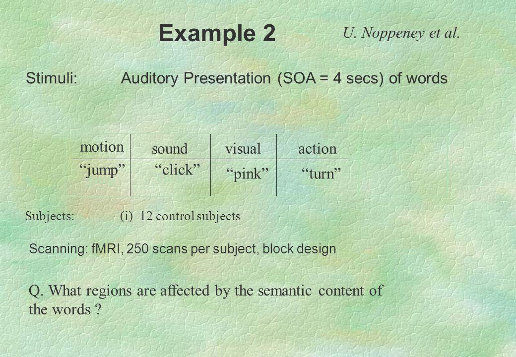 Example 2 U. Noppeney et al.