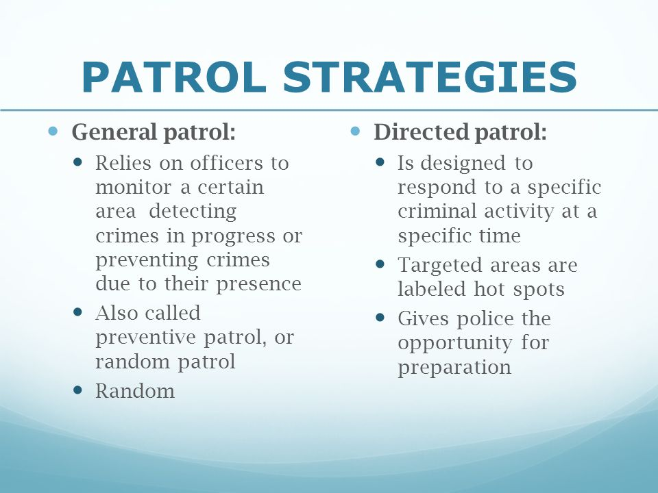 Foot Patrol: The Impact of Continuity, Outreach, and ...