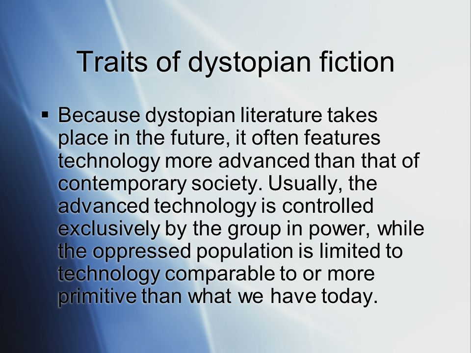 Totalitarianism and Dystopian Literature: A Review