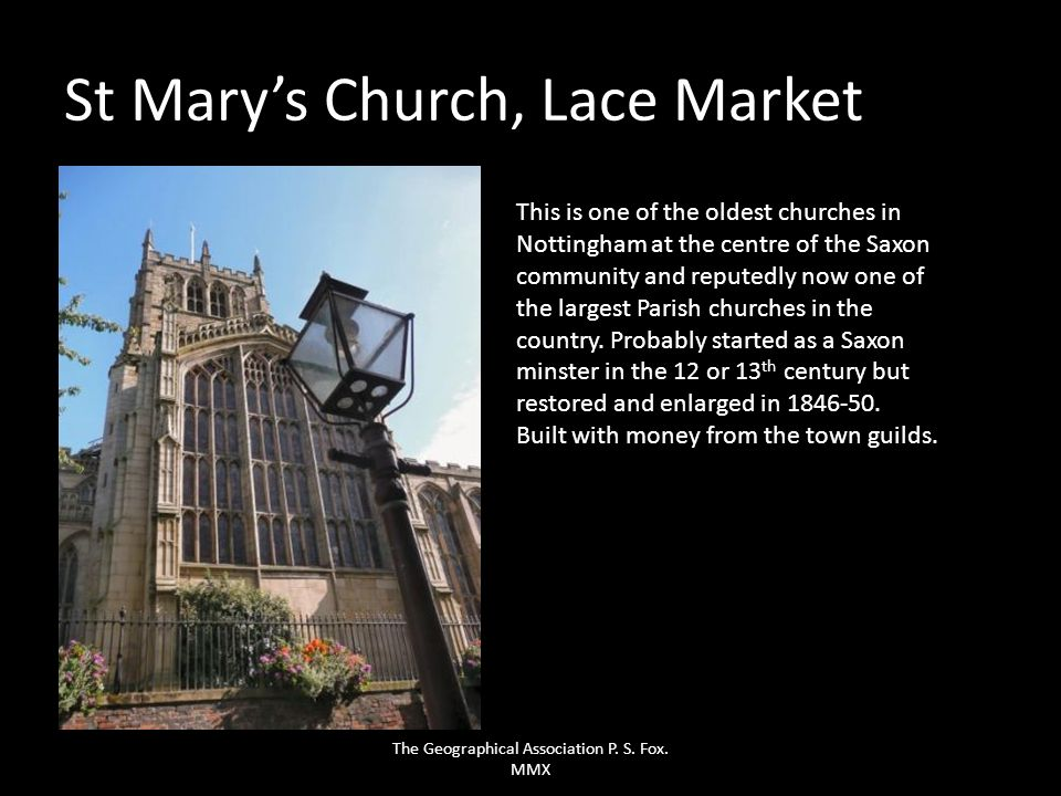 St Mary's Church, Lace Market
