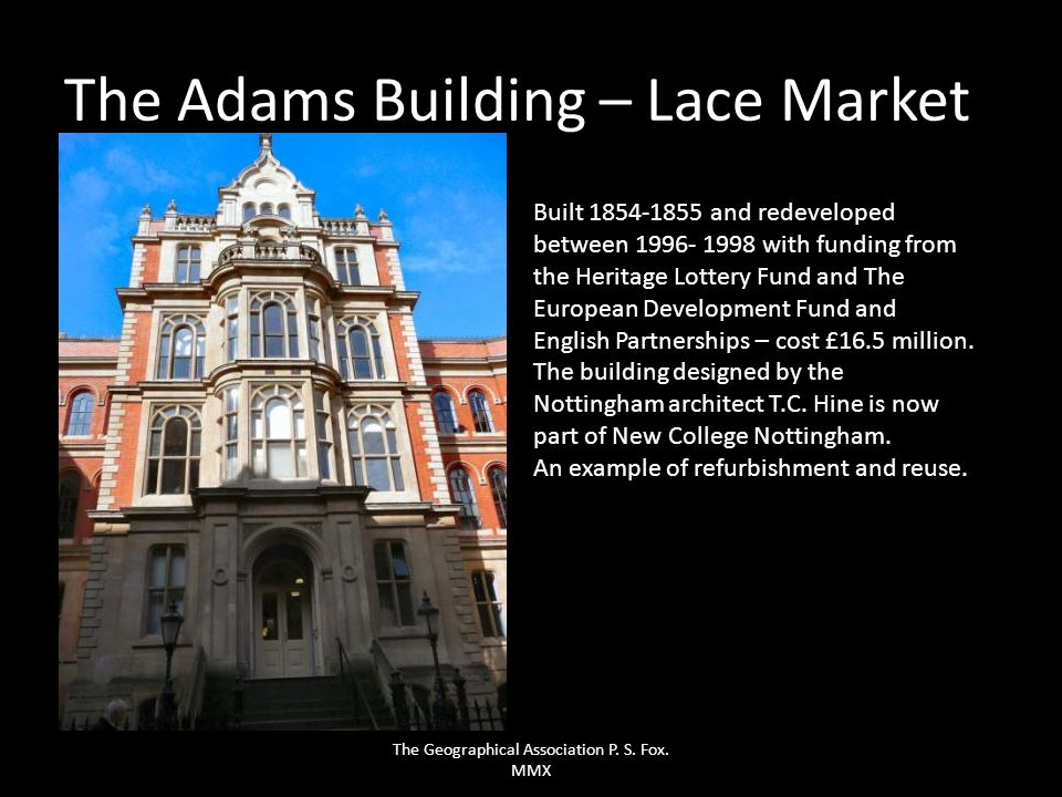 The Adams Building – Lace Market