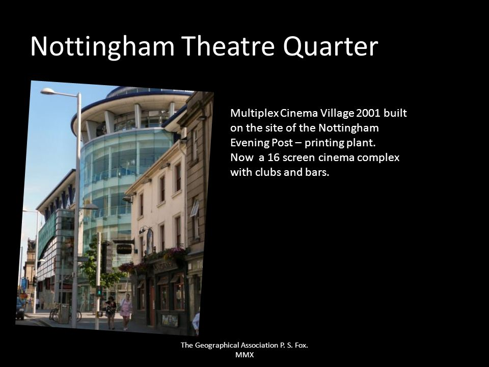 Nottingham Theatre Quarter