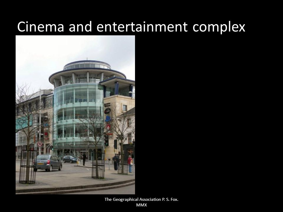 Cinema and entertainment complex