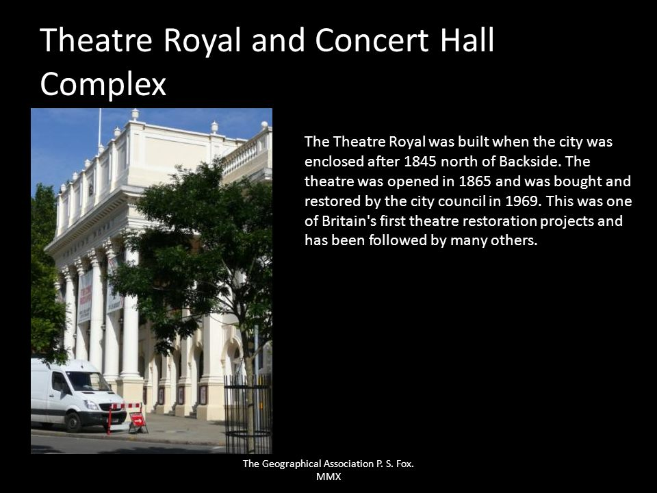 Theatre Royal and Concert Hall Complex