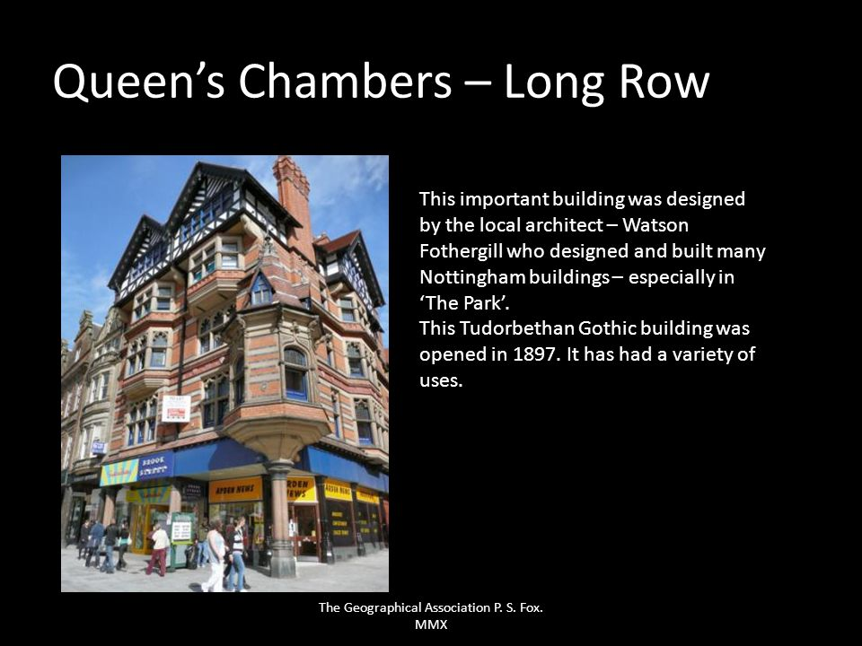 Queen's Chambers – Long Row