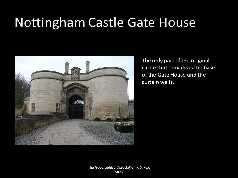 Nottingham Castle Gate House