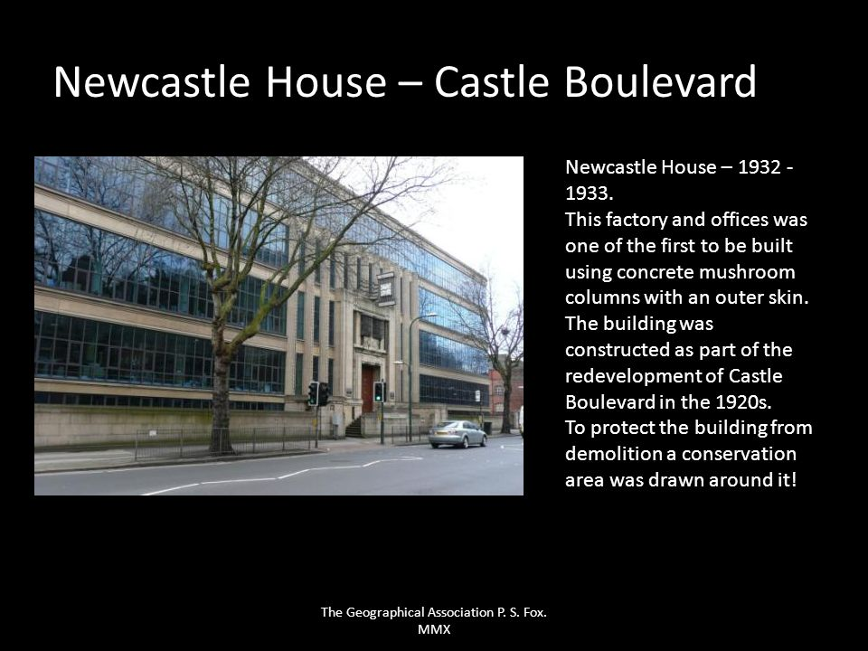 Newcastle House – Castle Boulevard