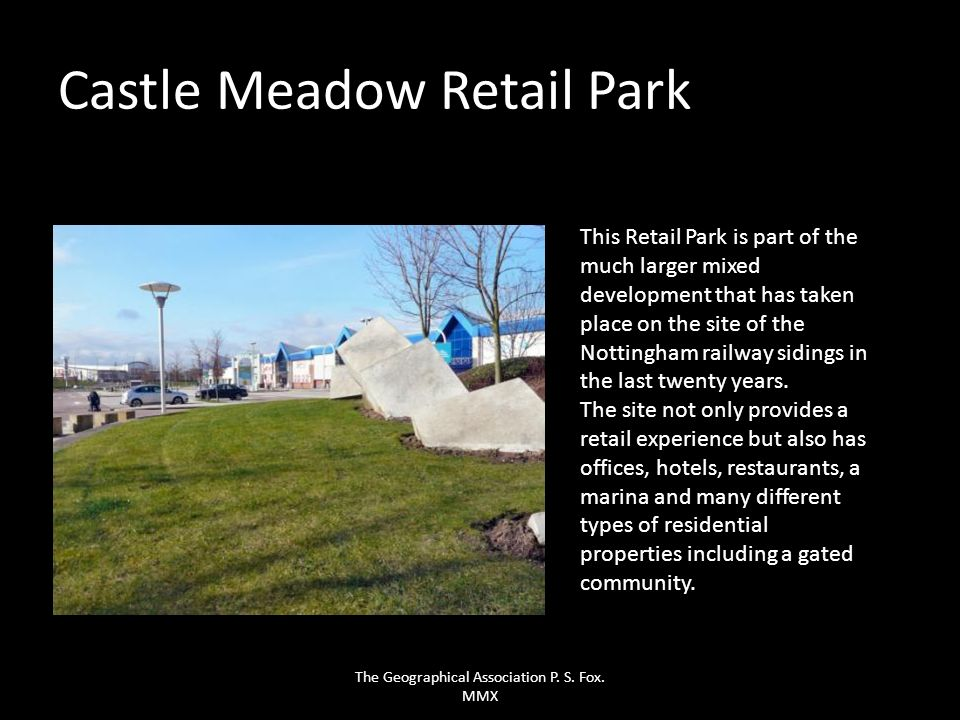 Castle Meadow Retail Park