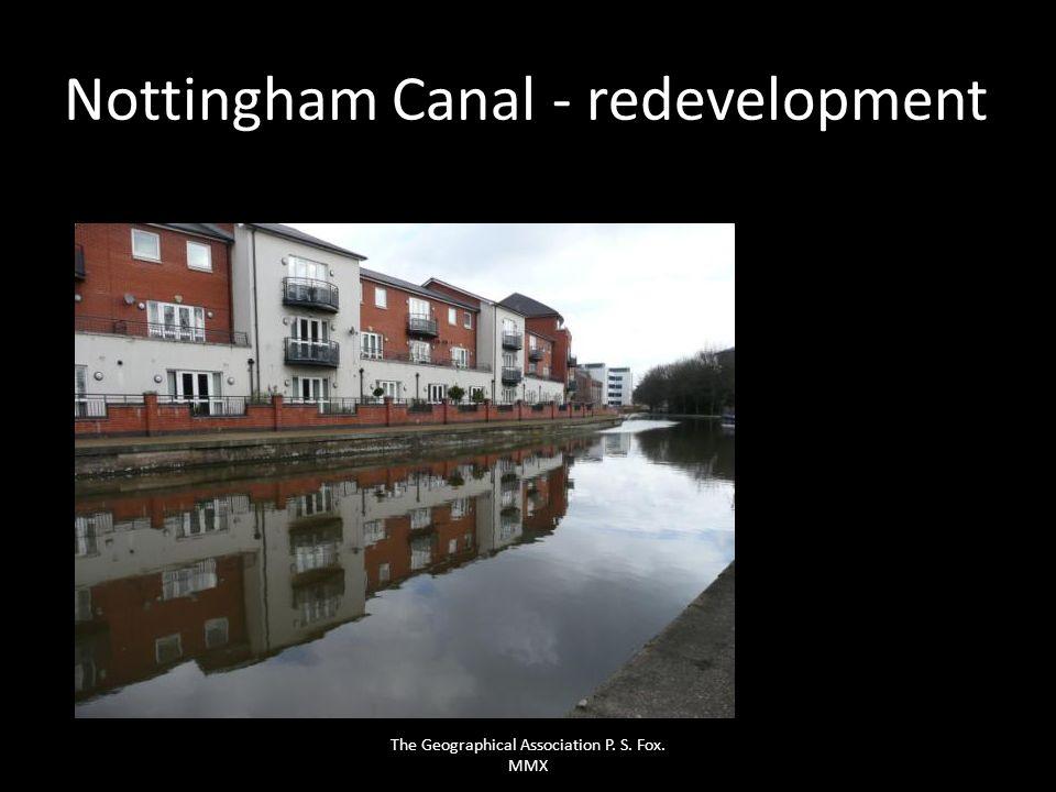 Nottingham Canal - redevelopment