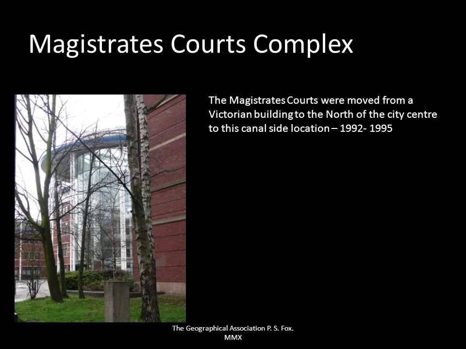 Magistrates Courts Complex
