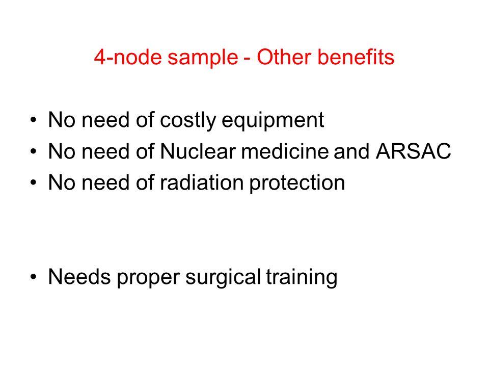 4-node sample - Other benefits