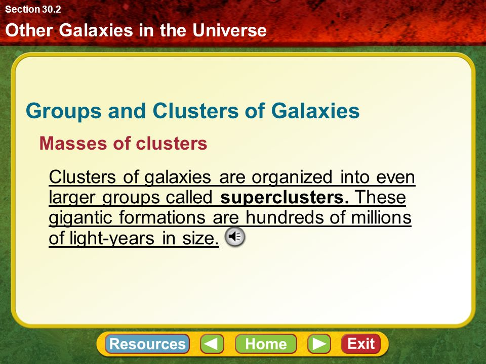 Objectives Describe how astronomers classify galaxies. - ppt video ...