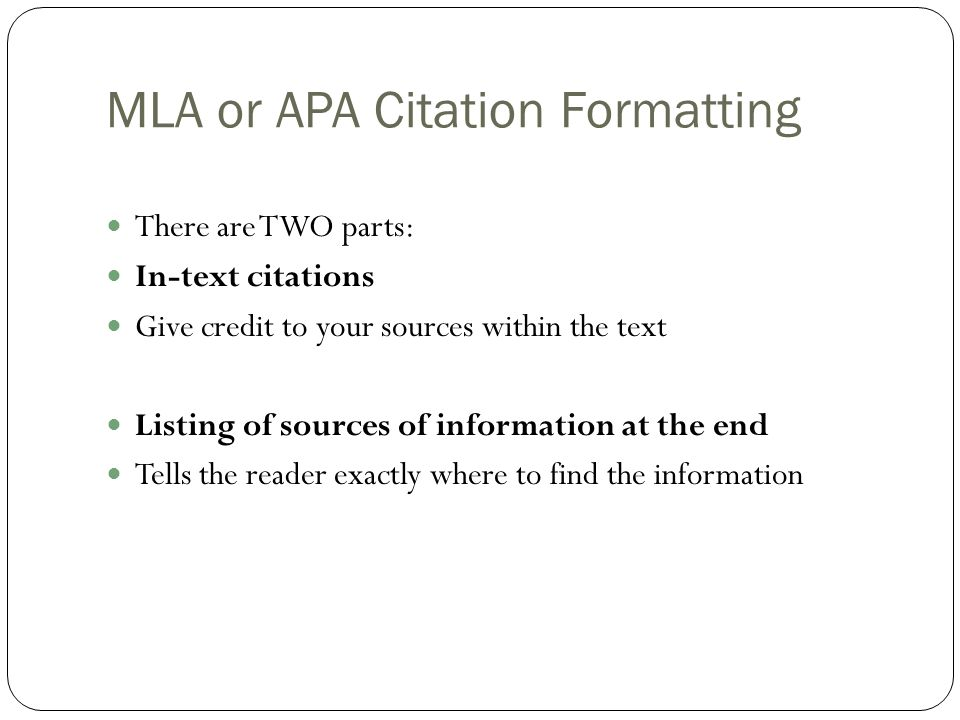 mla format cite Library media center eo smith high school how to cite online sources – mla format when citing electronic publications the goal is to provide enough information so that the reader can relocate.