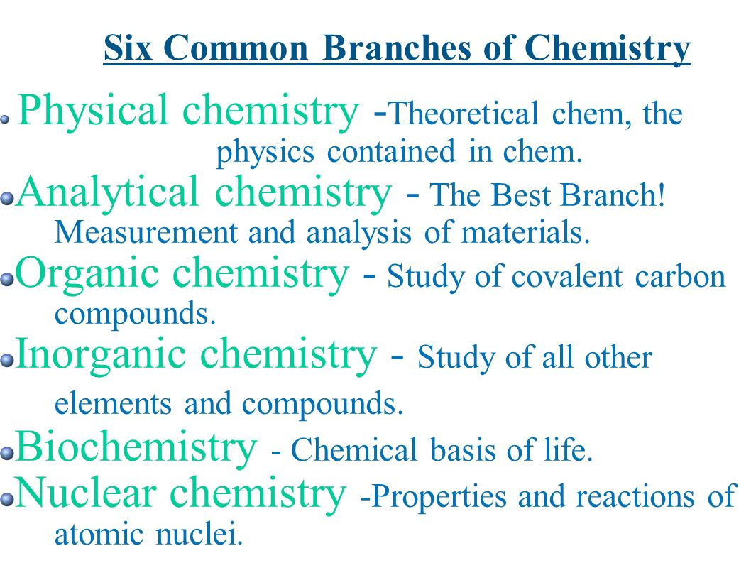 an analysis of chemistry in everyday life Before understanding the importance of chemistry in general it is essential to know the importance of chemistry in everyday life 1 everything on earth is made up of chemicals: you, your food, and the products you use in daily life such as soaps.