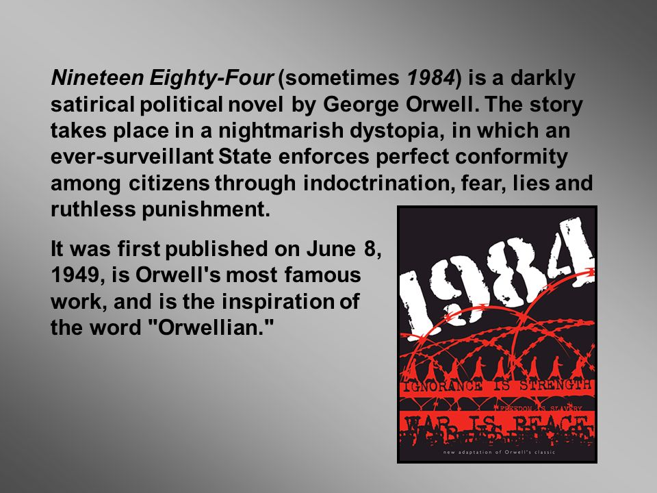 an introduction to dystopia in 1984 a novel by george orwell Animal farm / 1984 has 135,070  1984 and animal farm – with an introduction by  1984 and animal farm by george orwell are dystopian novels that depict.