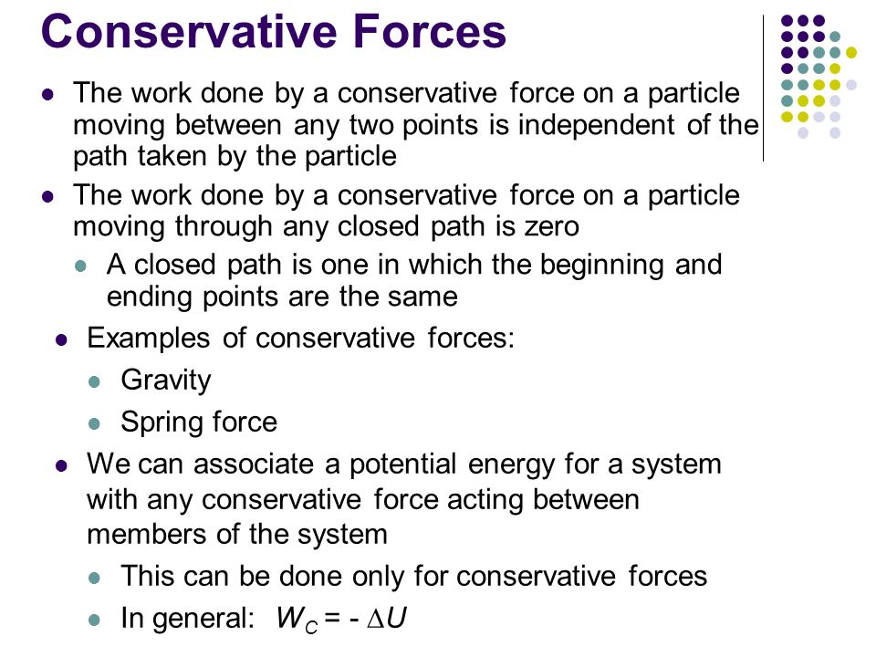conservative and nonconservative forces pdf