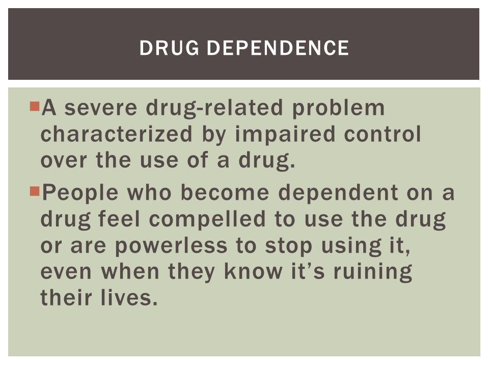 drug related problems Prevention of substance abuse and mental estimates of drug-related visits to demographic and substance abuse characteristics of admissions to.