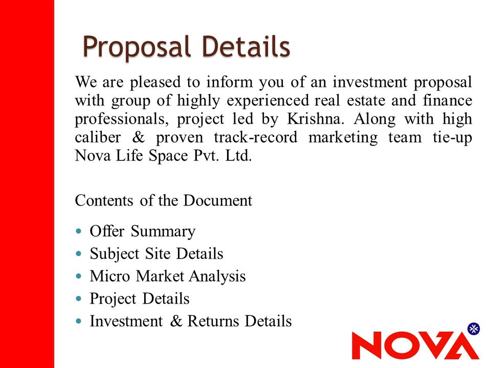Investment Proposal  Coursework Writing Service Gbcourseworkovze