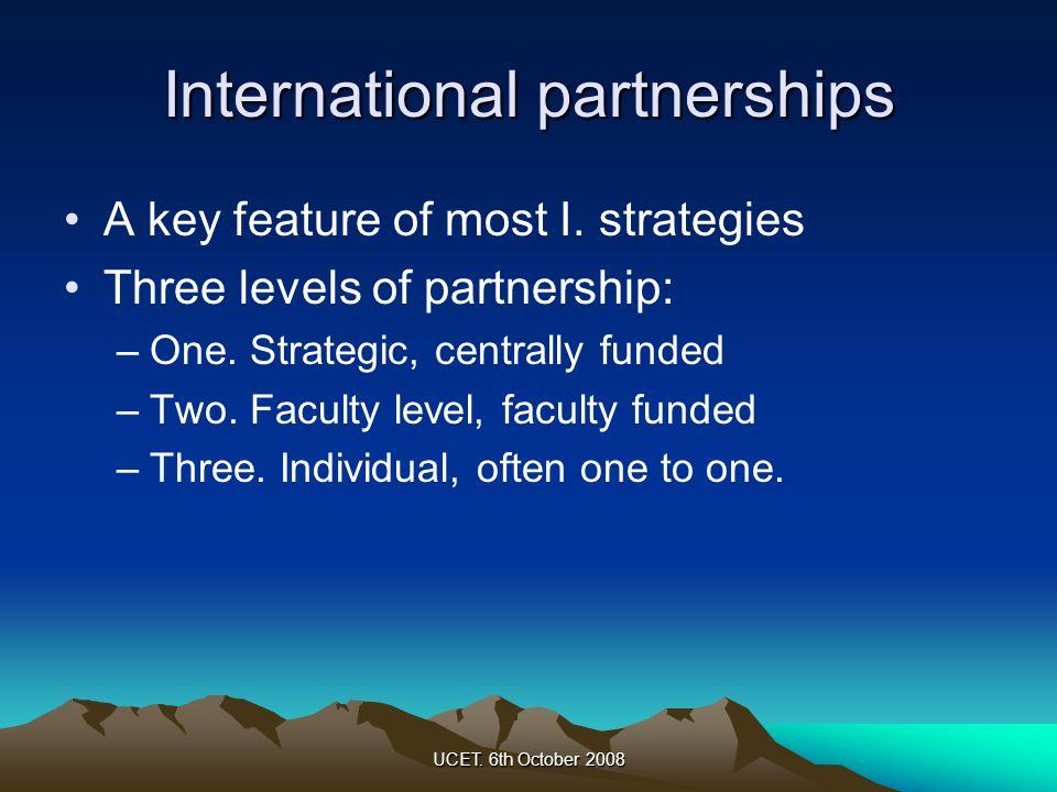 International partnerships