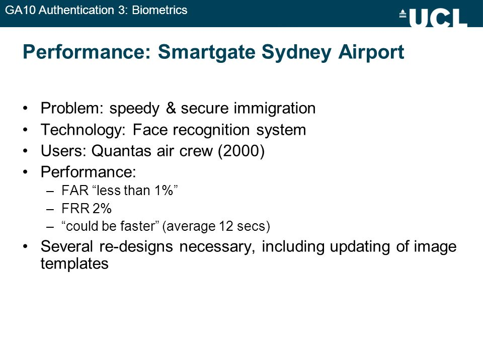 Performance: Smartgate Sydney Airport