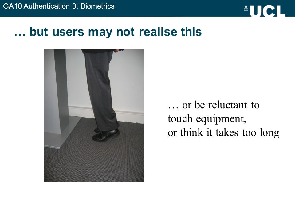 … but users may not realise this