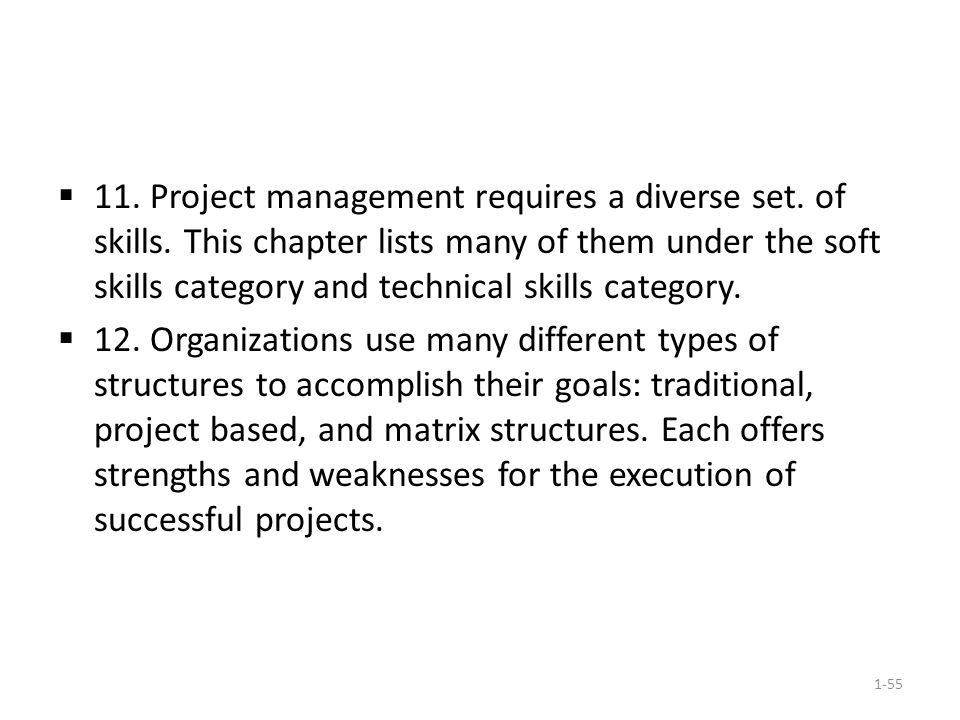 project management requires a diverse set of skills - Different Types Of Technical Skills