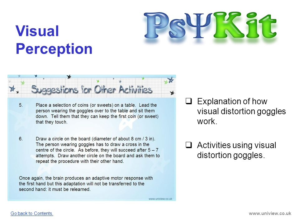 Visual Perception PsyKit