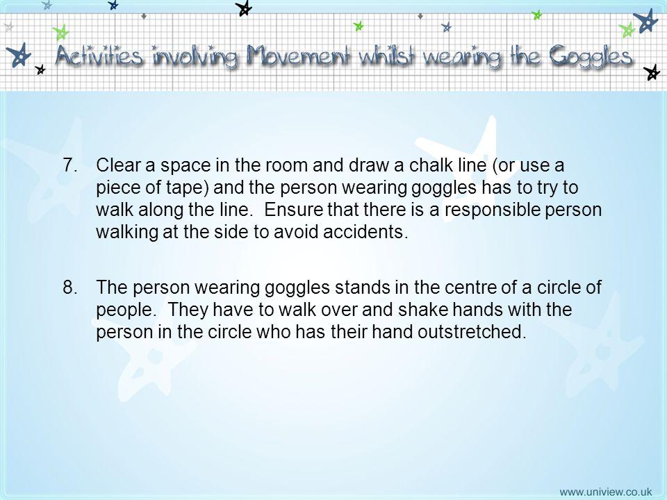 Activities involving Movement 7 – 8