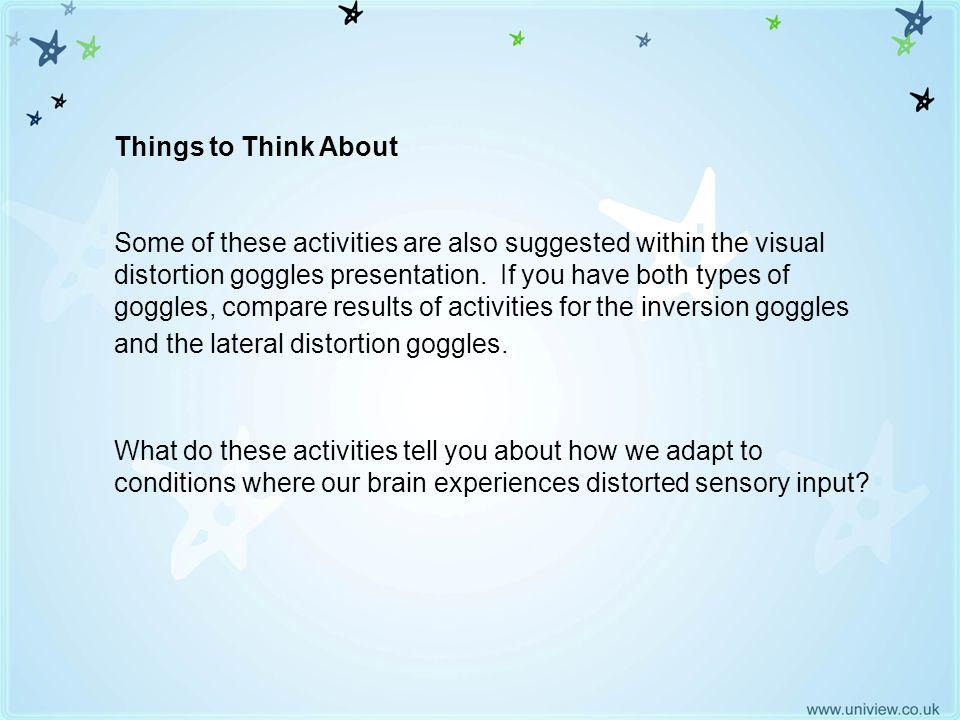 Things to think about Things to Think About.