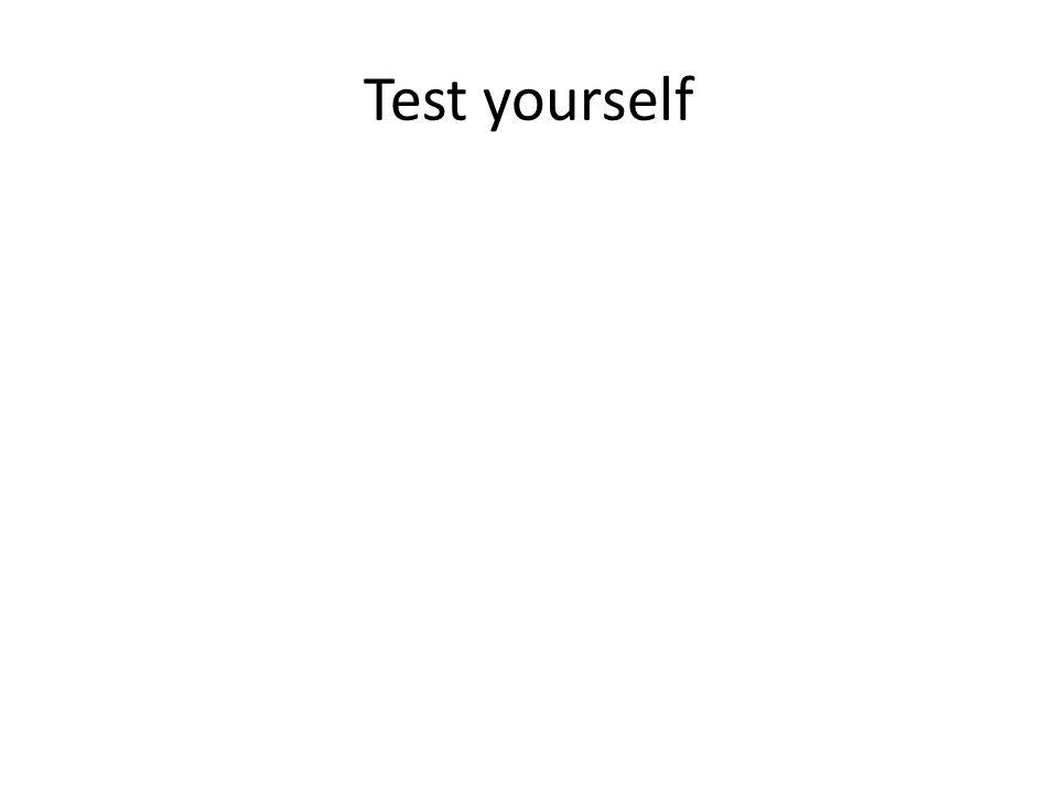 Test yourself BARRATT IMPULSIVENESS SCALE