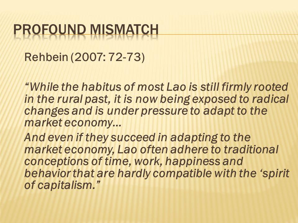 Profound MisMatch Rehbein (2007: 72-73)