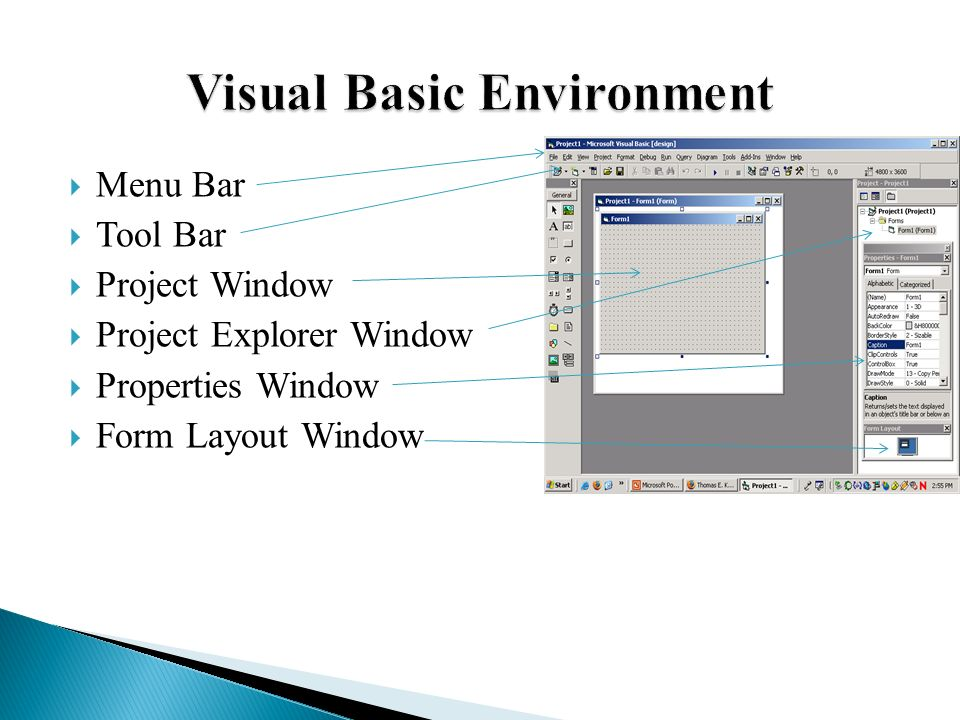 Chapter introducing visual basic ppt video online download
