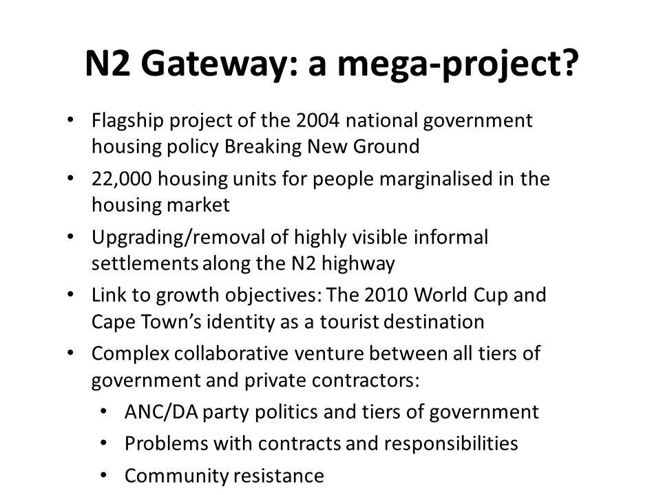 N2 Gateway: a mega-project