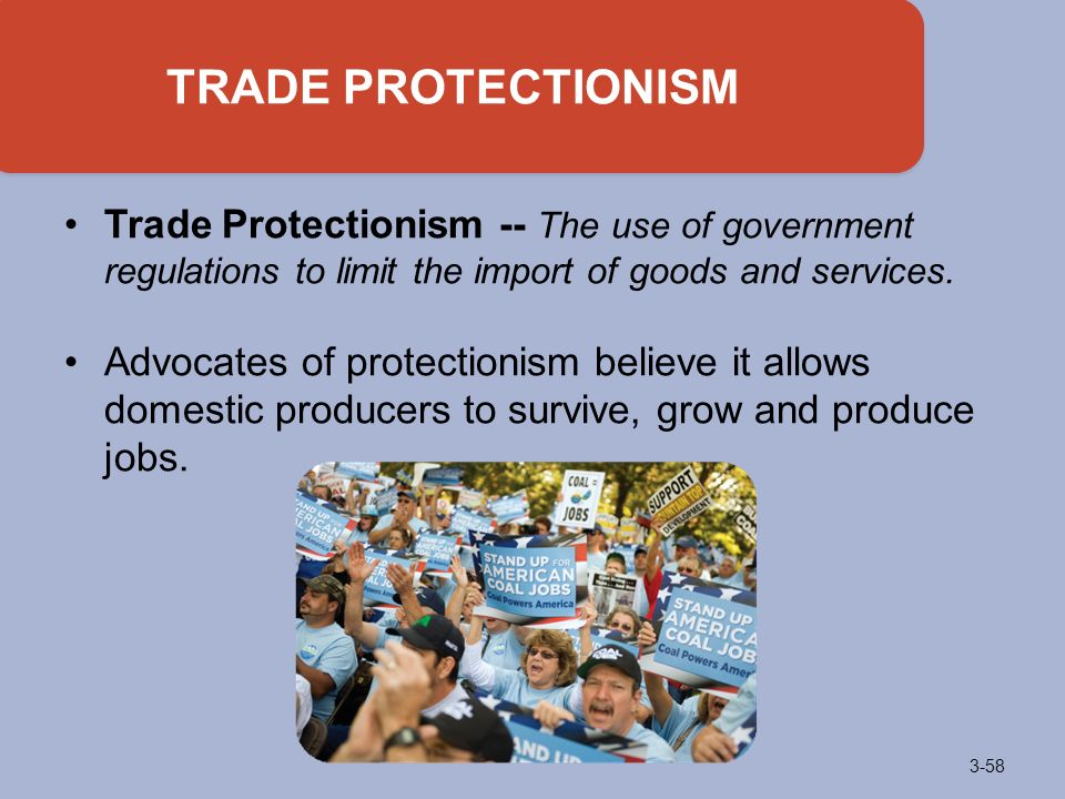 protectionism advantages and disadvantages Free trade brings advantages to the international community by enabling countries to specialize in  disadvantages of free trade  arguments for protectionism.