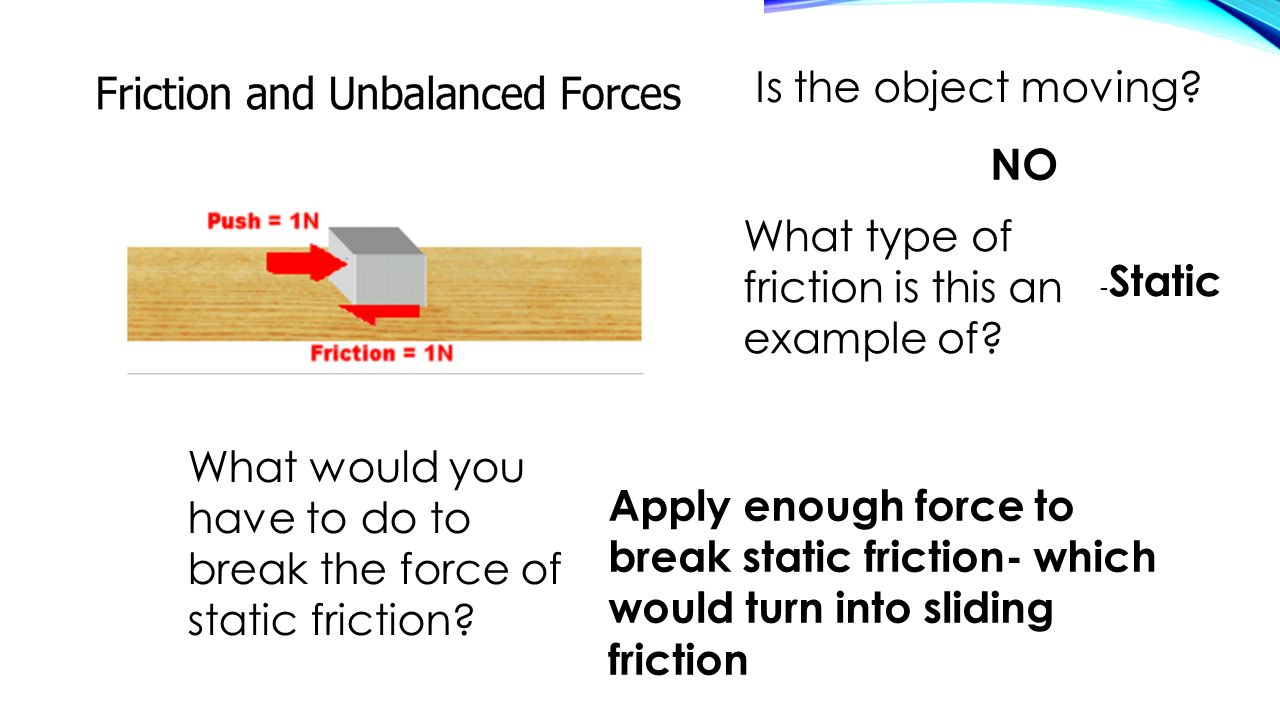 What type of friction is this an example of