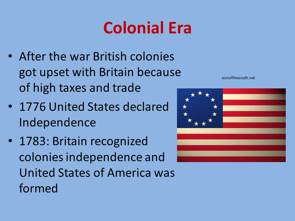The Colonial Period: Introduction