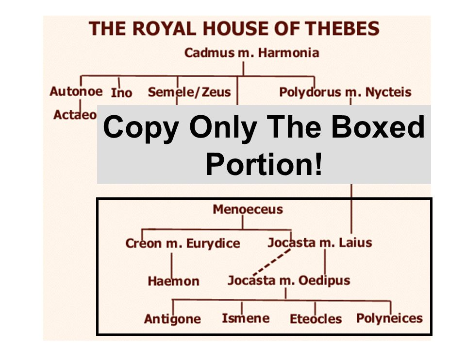An overview of the oedipus seven against thebes and medea plays