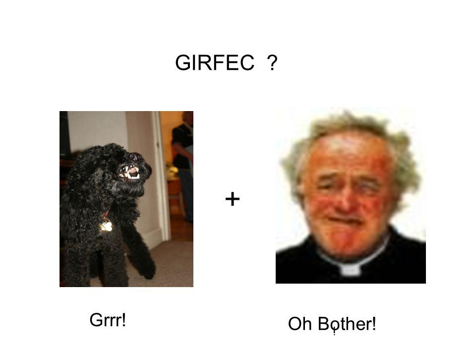 GIRFEC + Grrr! Oh Bother! !